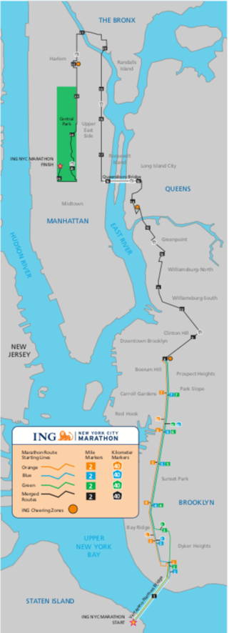 NYC 2008 Map